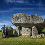 An Ancient Irish Dolmen